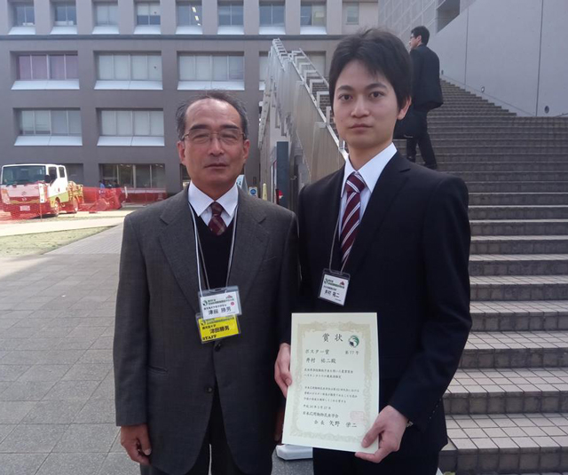 大学院生の井村祐二君が 第62回日本応用動物昆虫学会大会でポ…