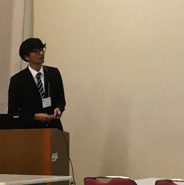 大学院生が第108回関東支部講演会にて研究成果を発表しました