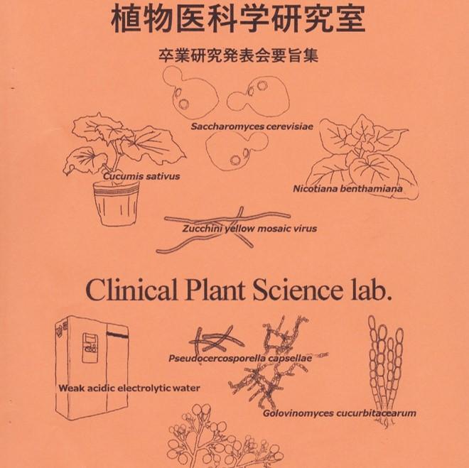生命農学科通信 vol.38「植物医科学研究室卒業論文発表会…