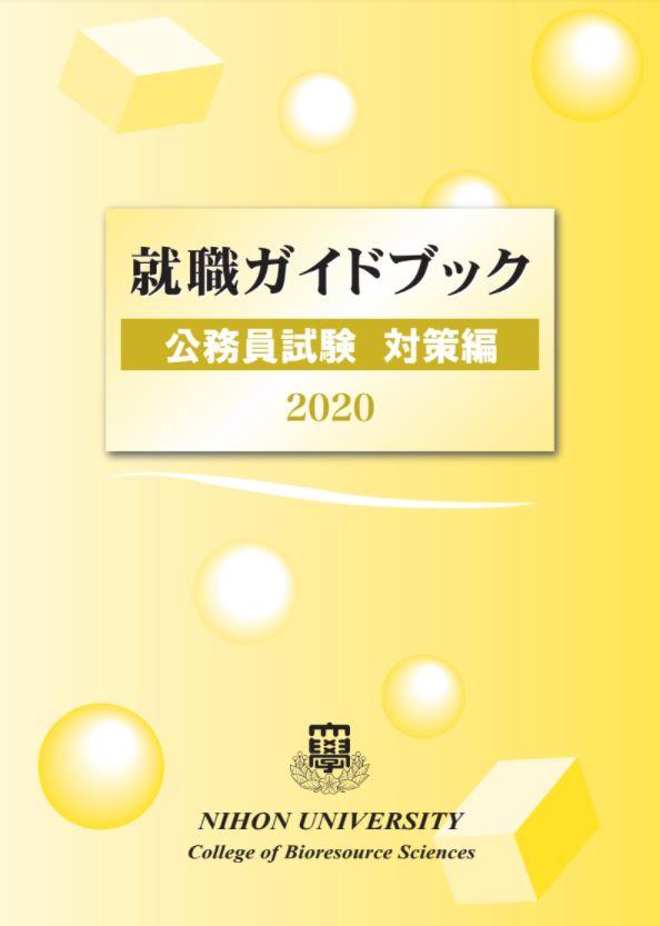 就職ガイドブック公務員試験対策編